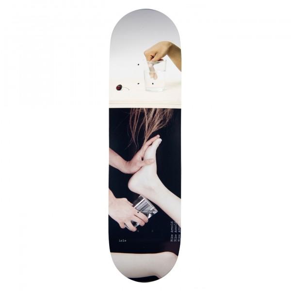 "Isle Skateboards Mike Arnold Artist Series Jenna Westra Skateboard Deck 8.5"""
