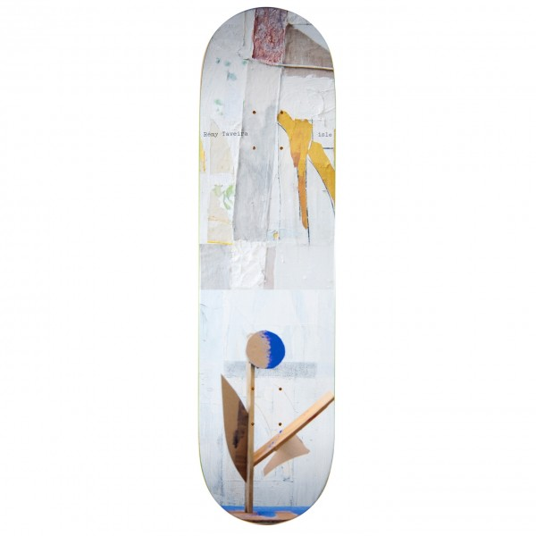 Isle Skateboards Remy Taveira Sculpture Series Skateboard Deck 8.25""