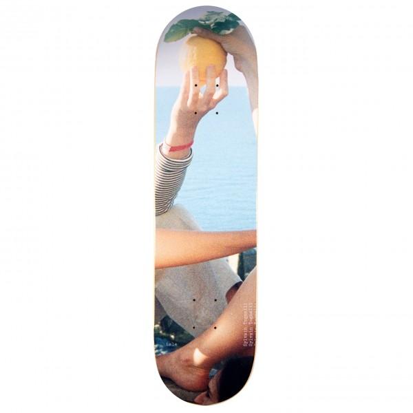 "Isle Skateboards Sylvain Tognelli Artist Series Jenna Westra Skateboard Deck 8.0"""