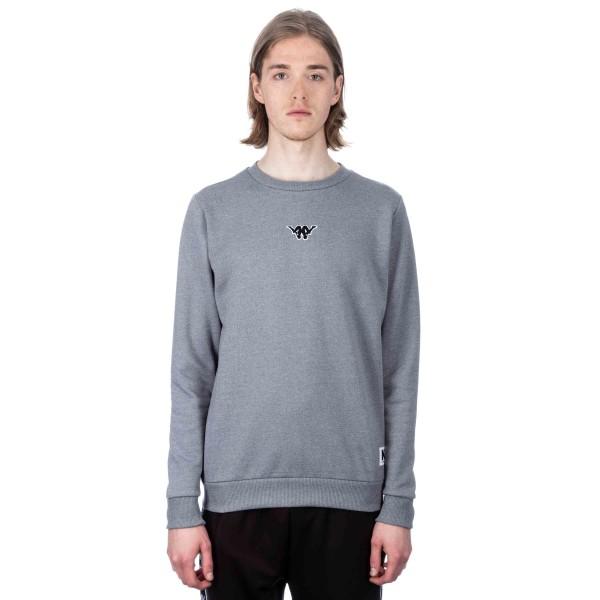 Kappa Kontroll Crew Neck Sweatshirt (Grey Mid Melange)