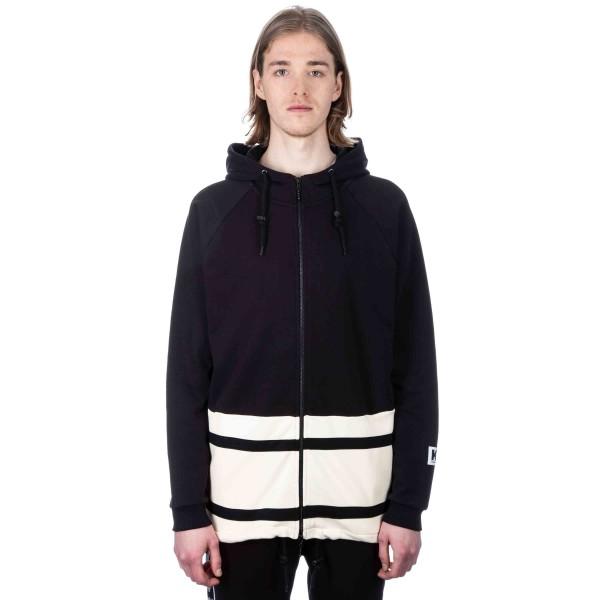 Kappa Kontroll Hooded Jacket (Black/Beige Light Sand)