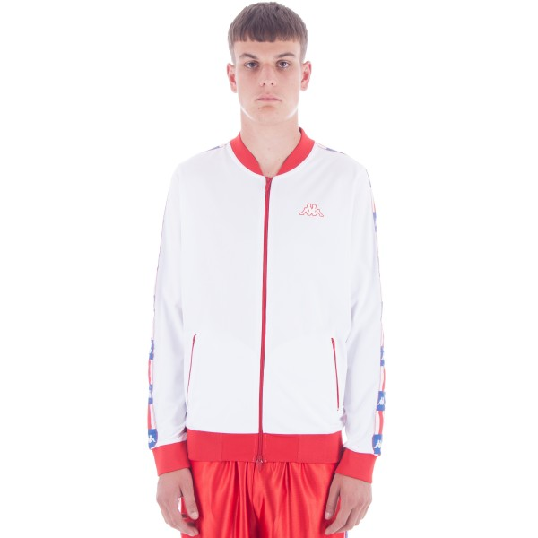 Kappa Kontroll LA.84 Double Jacket (White/Red)