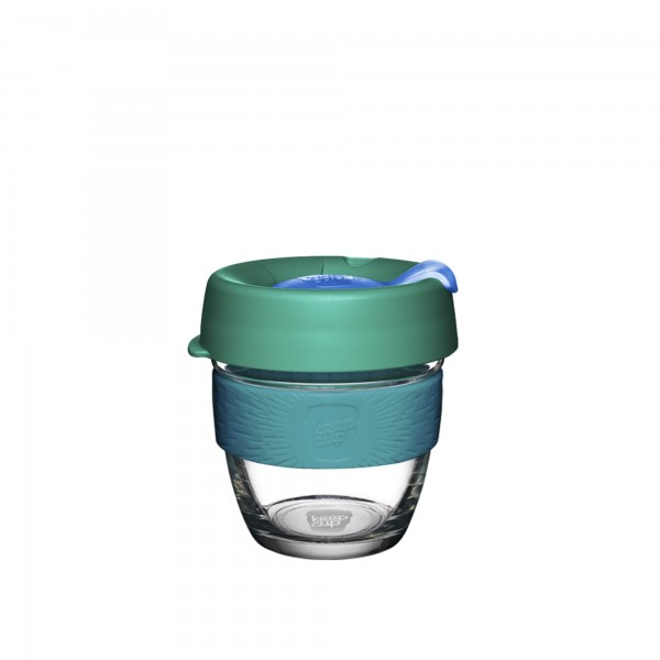 KeepCup Glass 8oz Brew Reusable Cup (Evergreen)