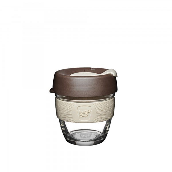 KeepCup Glass 8oz Brew Reusable Cup (Roast)