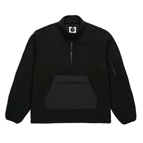 Polar Skate Co. Gonzalez Fleece Jacket (Black/Black)