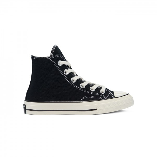 Kids' Converse All Star Chuck Taylor 70 Hi 'Vintage Canvas' (Black/Black/Egret)