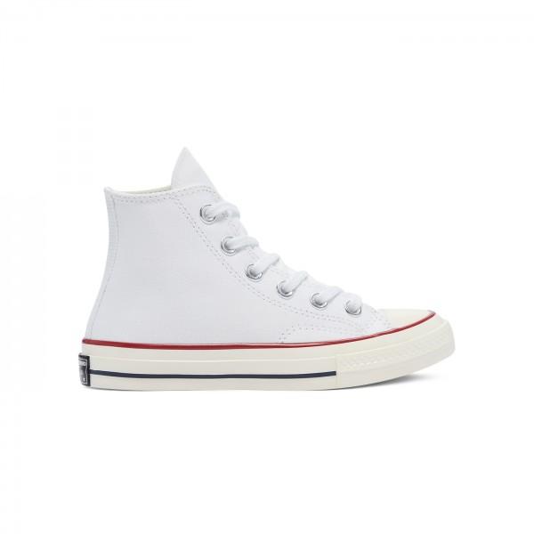 Kids' Converse All Star Chuck Taylor 70 Hi 'Vintage Canvas' (White/Garnet/Egret)
