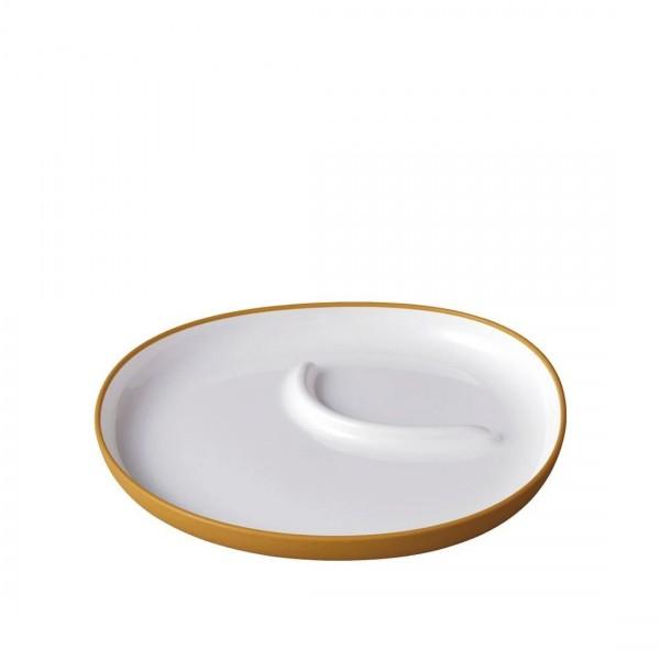 KINTO BONBO Plate 240 x 220mm (Yellow)
