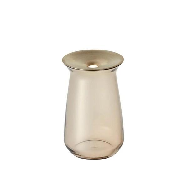 KINTO LUNA Vase 80x130mm (Brown)