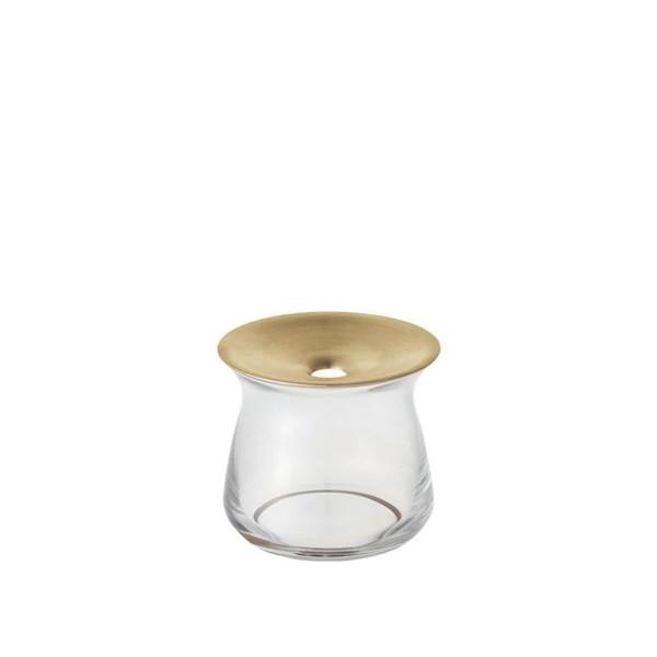 KINTO LUNA Vase 80x70mm (Clear)