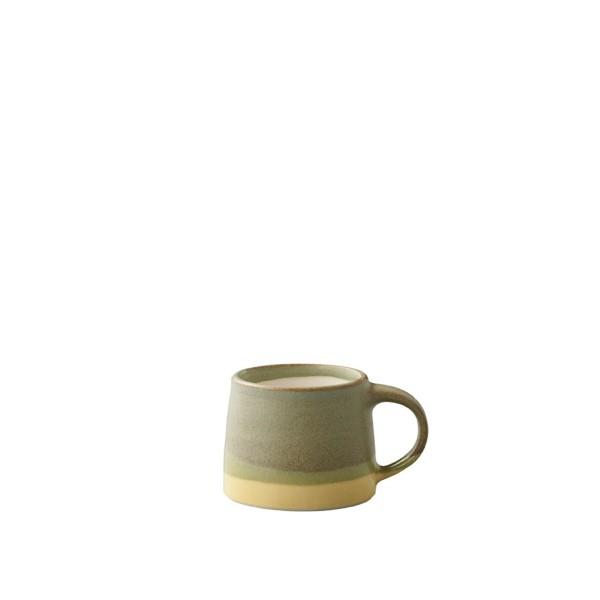 KINTO SCS-S03 Mug 110ml (Moss Green x Yellow)