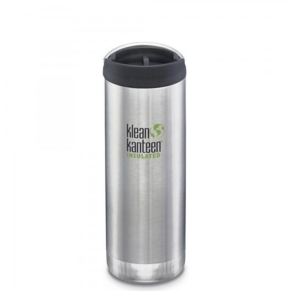 Klean Kanteen 473ml TKWide Insulated Bottle w/Café Cap 3.0 (Stainless Steel)