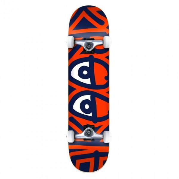 """Krooked Bigger Eyes LG Complete Skateboard 8.0"""" (Multi)"""