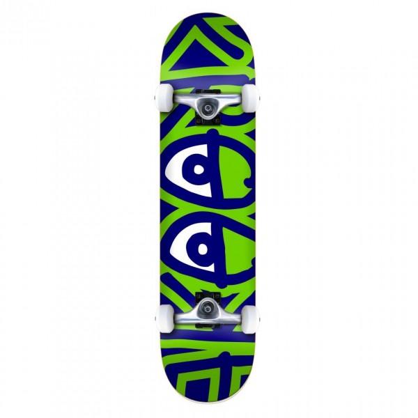 "Krooked Bigger Eyes XL Complete Skateboard 8.25"" (Multi)"