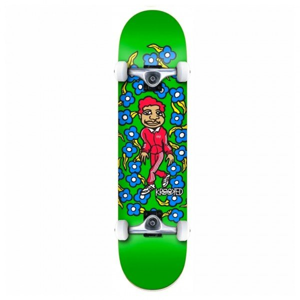 "Krooked Team Sweatpants XL Complete Skateboard 8.25"" (Green)"