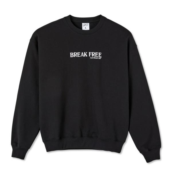 Last Resort AB Break Free Crew Neck Sweatshirt (Black)