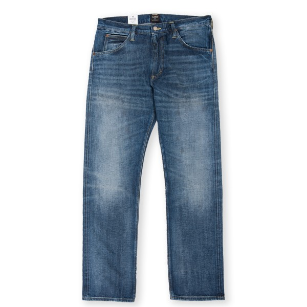 Lee 101 Z Blue For Blue Dry Selvedge 13.75oz Jean