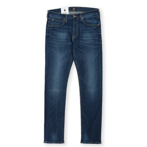 Lee Luke Slim Tapered Denim Jeans (Night Sky Blue)