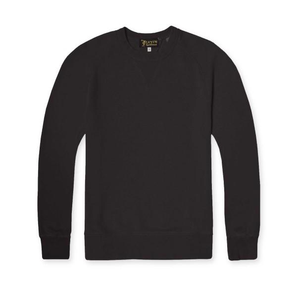 Levi's Vintage Clothing 1950's Crew Neck Sweatshirt (Black)