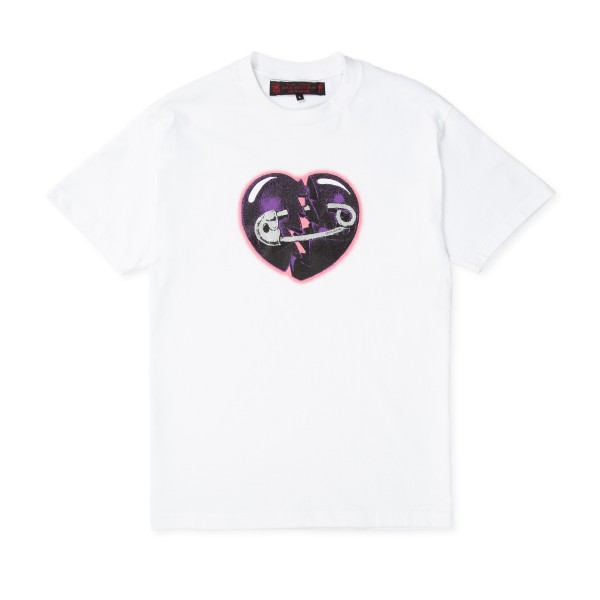 Life Is Unfair Heartbreak T-Shirt (White)