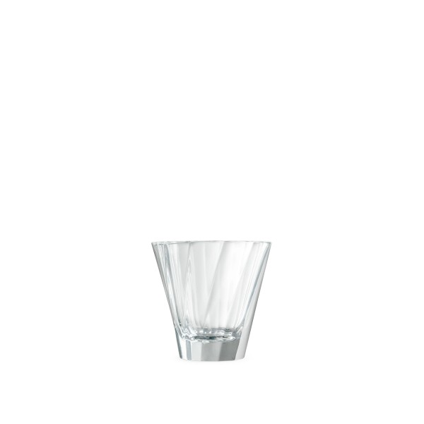 Loveramics Urban Glass 180ml Twisted Cappuccino Glass (Clear)