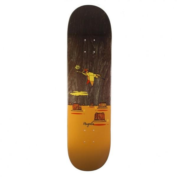 "Magenta Ben Gore Landscape Skateboard Deck 8.5"""