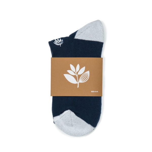 Magenta Skateboards Brodé Socks (Navy)