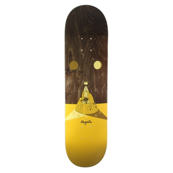 """Magenta Jimmy Lannon Landscape Skateboard Deck 8.4"""""""
