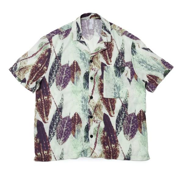 Magic Castles Camp Collar Shirt (Vision Print Apple White)