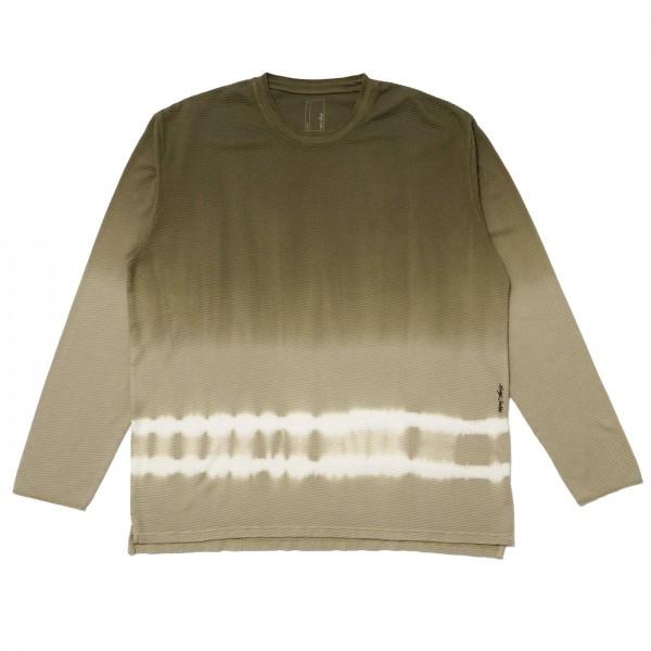 Magic Castles Dyed Waffle Long Sleeve T-Shirt (Olive)