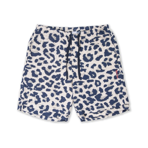 Magic Castles Two Layer Shorts (Leopard Print)
