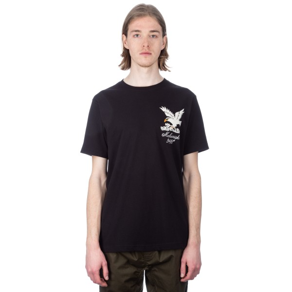 Maharishi Maha Eagle Chest T-Shirt (Black)