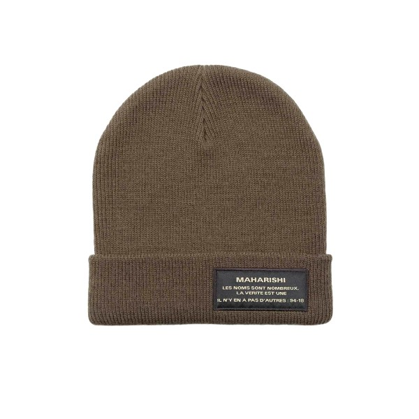 Maharishi Miltype Knitted Beanie (Military Olive)