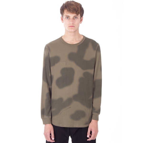 Maharishi Reversible Long Sleeve T-Shirt (Woodland British Haze)