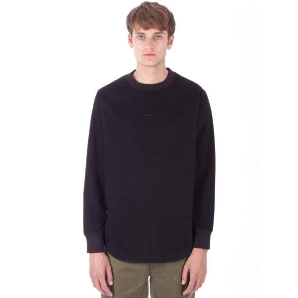 Maharishi Woven Crew Neck Sweatshirt (Black)