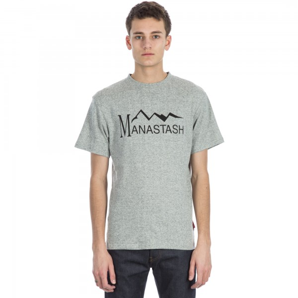 Manastash Hemp T-Shirt (Heather Grey)