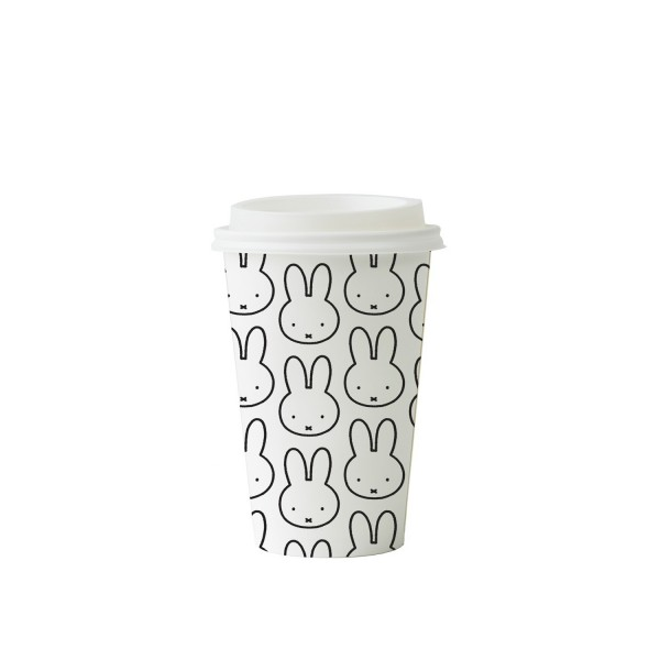 Miffy Repeat Bamboo Coffee Cup