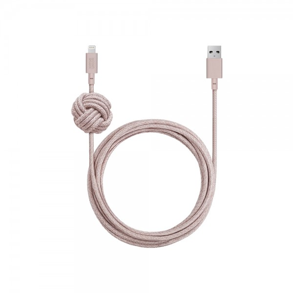 Native Union Lightning Night Cable 3m (Rose)