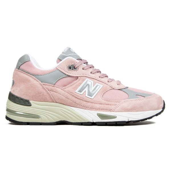 New Balance 991 'Made In UK' (Shy Pink/Silver)