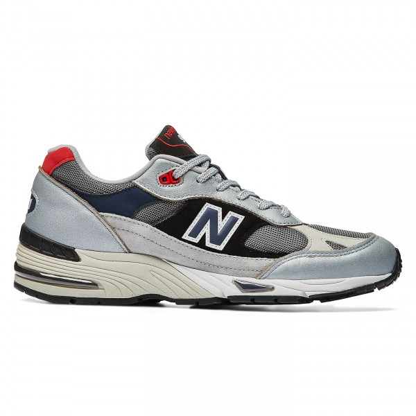 New Balance 991 'Made In UK' (Silver/Black)