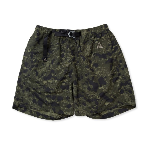 Nike ACG All-Over Print Trail Shorts (Sequoia/Black/Moon Fossil)