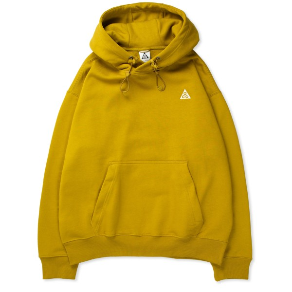 Nike ACG Fleece Pullover Hooded Sweatshirt (Peat Moss/Desert Moss-Summit White)