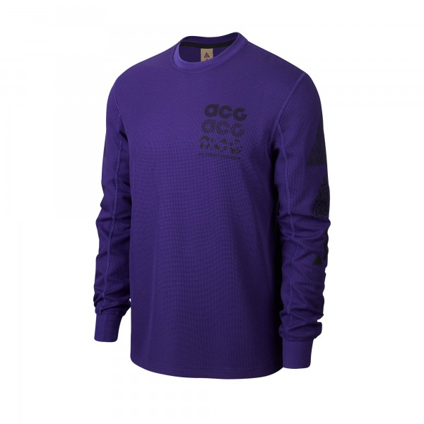 Nike ACG GX Long Sleeve Waffle Shirt (Court Purple)
