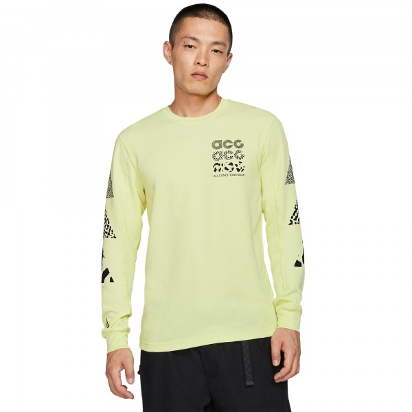 Nike ACG GX Long Sleeve Waffle Shirt (Luminous Green)