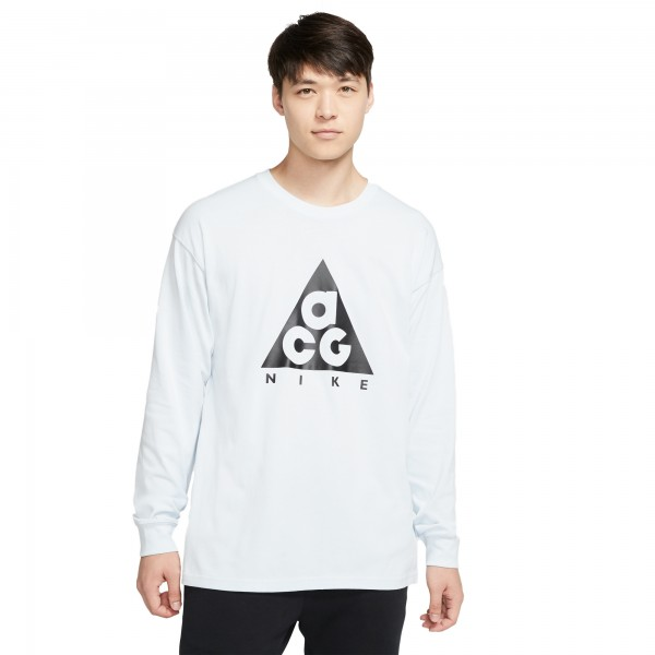 Nike ACG NRG Logo Long Sleeve T-Shirt (Blue Tint/Black)