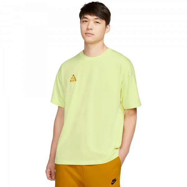 Nike ACG NRG Logo T-Shirt (Luminous Green/University Gold)