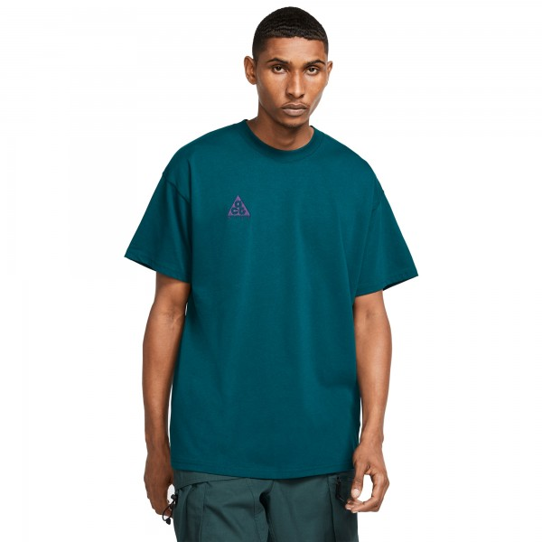 Nike ACG NRG Logo T-Shirt (Midnight Turquoise/Grand Purple)