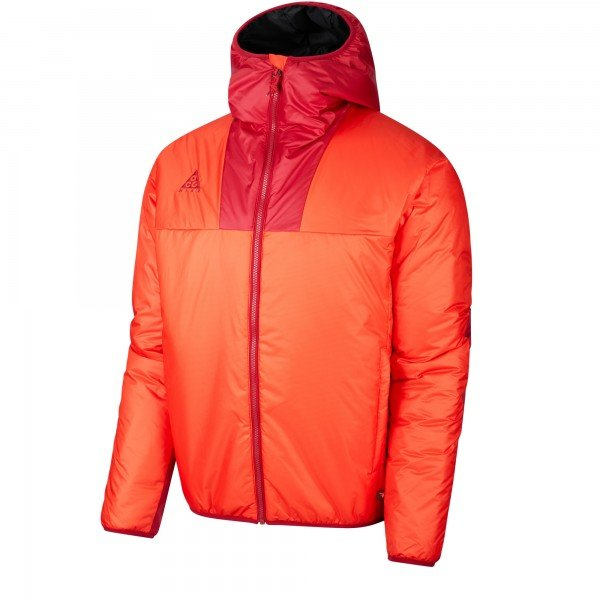 Nike ACG Primaloft Hooded Jacket (Habanero Red/Noble Red)