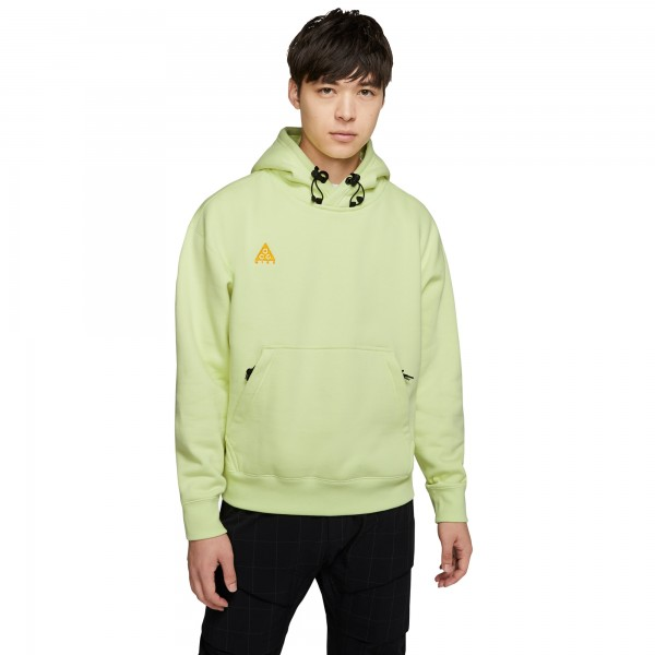 Nike ACG Pullover Hooded Sweatshirt (Luminous Green/University Gold)