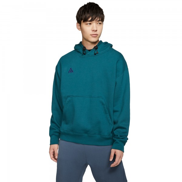Nike ACG Pullover Hooded Sweatshirt (Midnight Turquoise/Court Purple)